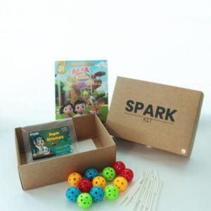 STEM Kit Experiment For Kids At Home - Kit #10 : Magic Beads Kit