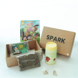 STEM Kit Experiment For Kids At Home - Kit #11 : Growing Turnip Kit
