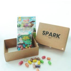 STEM Kit Experiment For Kids At Home - Kit #13 : Magic Corn Kit