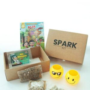 STEM Kit Experiment For Kids At Home - Kit #15 : Wheatgrass Kit