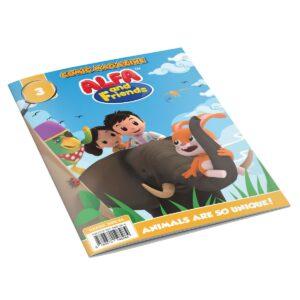 Digital Comic Book in App For Kids - Issue #3 | ALFAandFriends (1)