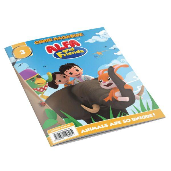 Digital Comic Book in App For Kids - Issue #3   ALFAandFriends (1)