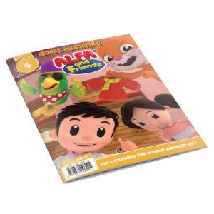 Digital Comic Book in App For Kids - Issue #4 | ALFAandFriends (1)