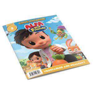 Digital Comic Book in App For Kids - Issue #5   ALFAandFriends (1)