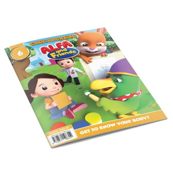 Digital Comic Book in App For Kids - Issue #6 | ALFAandFriends (1)