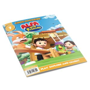 Digital Comic Book in App For Kids - Issue #7 | ALFAandFriends (1)