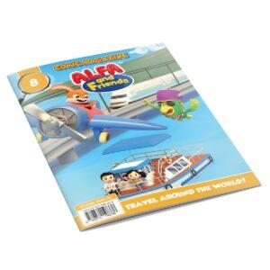 Digital Comic Book in App For Kids - Issue #8 | ALFAandFriends (1)