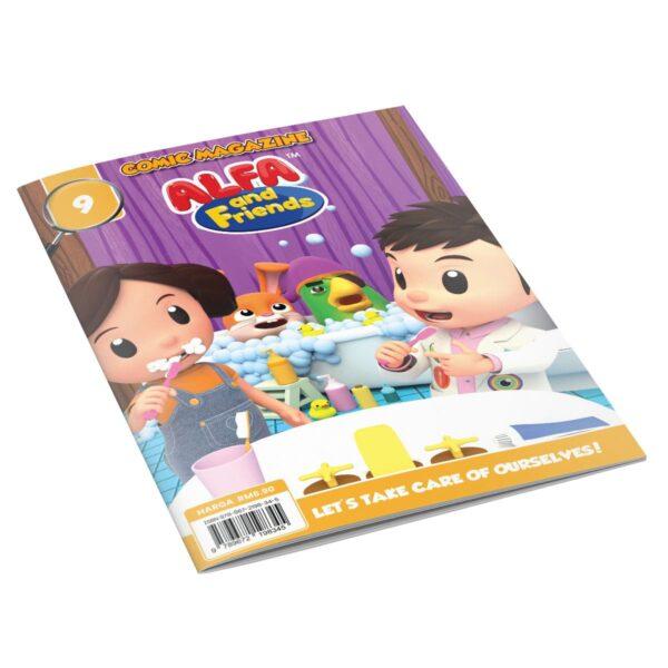 Digital Comic Book in App For Kids - Issue #9 | ALFAandFriends (1)