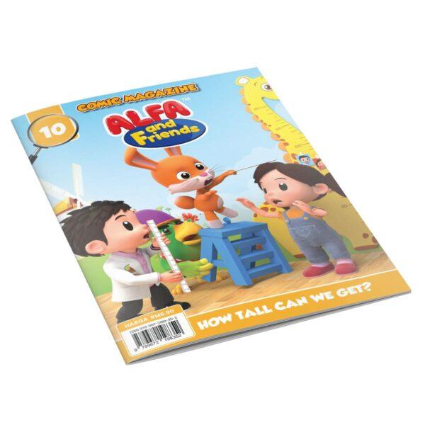 Digital Comic Book in App For Kids - Issue #10 | ALFAandFriends (1)