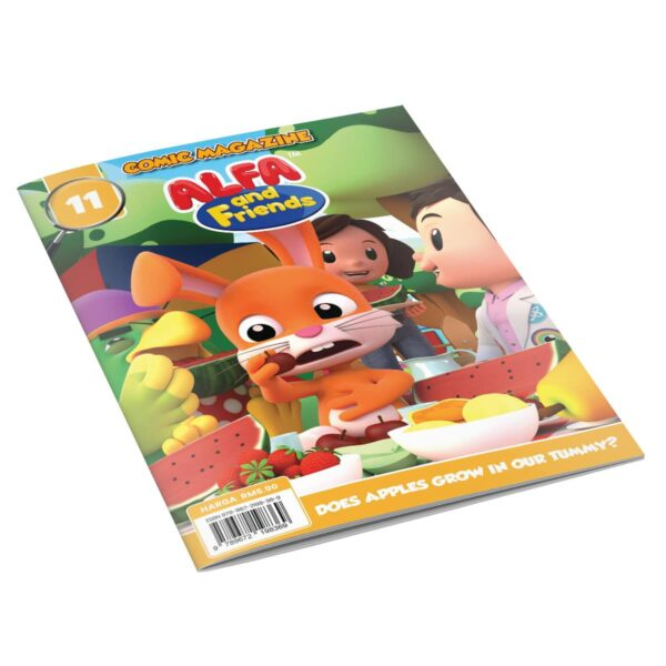 Digital Comic Book in App For Kids - Issue #11 | ALFAandFriends (1)