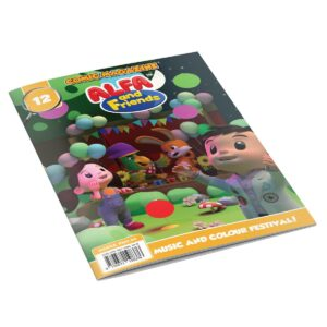 Digital Comic Book in App For Kids - Issue #12 | ALFAandFriends (1)