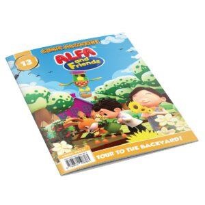 Digital Comic Book in App For Kids - Issue #13 | ALFAandFriends (1)