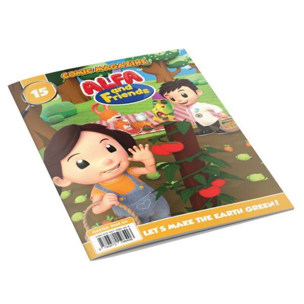 Comic Books For Kids - Issue #15   ALFAandFriends (1)