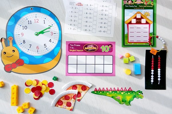 Math Program For Kindergarten - Euler Maths Student Kits | ALFAandFriends