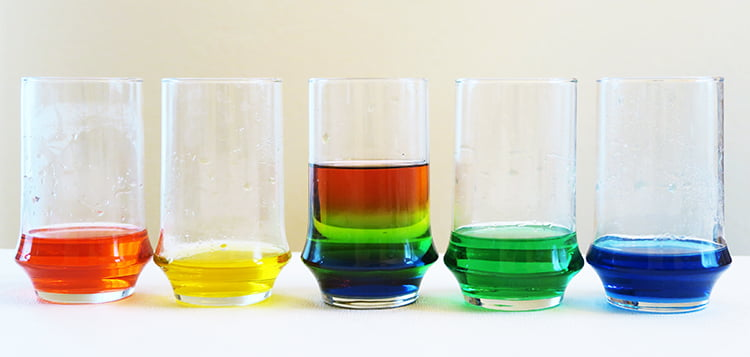 Rainbow Density Experiment | ALFAandFriends