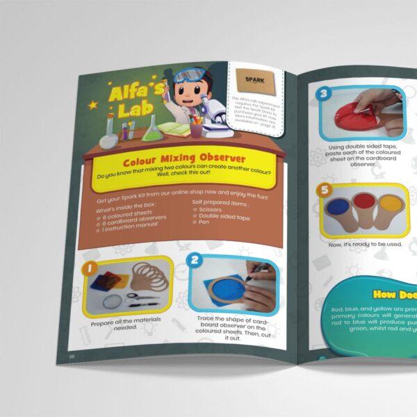 STEM Kit Experiment For Kids At Home – Kit #12 : Colour Mixing Observer Kit (3)