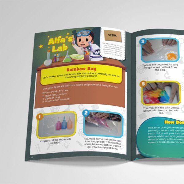 STEM Kit Experiment For Kids At Home – Kit #14 : Rainbow Bag Kit (2)