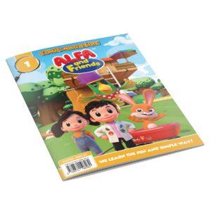 Comic Books For Kids - Issue #1 | ALFAandFriends (1)
