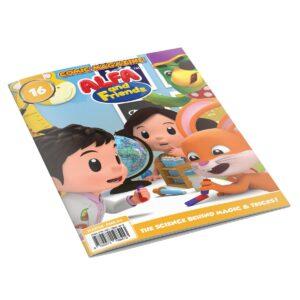Digital Comic Book in App For Kids - Issue #16   ALFAandFriends (1)