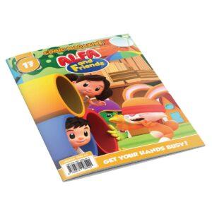 Digital Comic Book in App For Kids - Issue #17   ALFAandFriends (1)