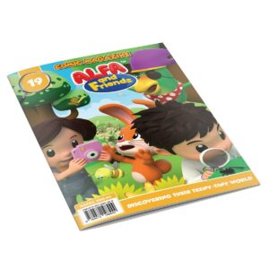 Digital Comic Book in App For Kids - Issue #19 | ALFAandFriends (1)
