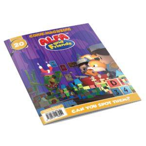 Digital Comic Book in App For Kids - Issue #20   ALFAandFriends (1)