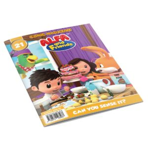 Digital Comic Book in App For Kids - Issue #21   ALFAandFriends (1)