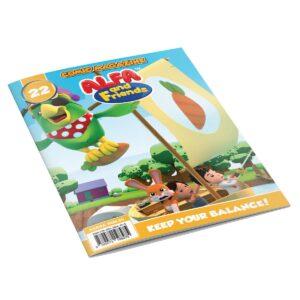 Digital Comic Book in App For Kids - Issue #22   ALFAandFriends (1)