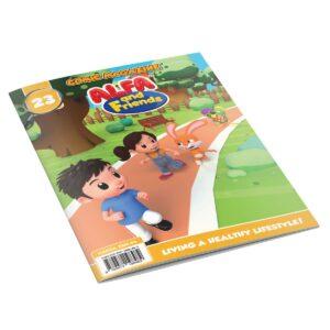 Digital Comic Book in App For Kids - Issue #23   ALFAandFriends (1)