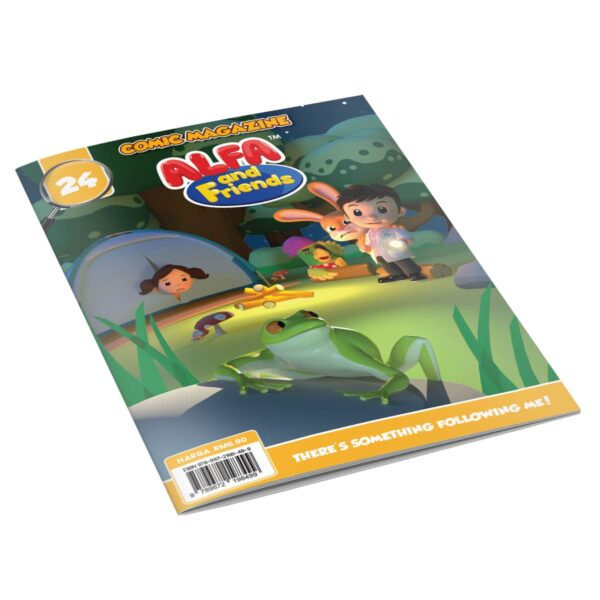Digital Comic Book in App For Kids - Issue #24 | ALFAandFriends (1)