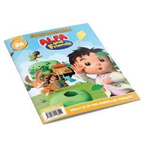 Digital Comic Book in App For Kids - Issue #26   ALFAandFriends (1)
