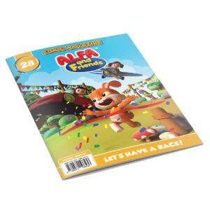 Digital Comic Book in App For Kids - Issue #28   ALFAandFriends (1)