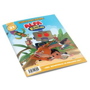 Digital Comic Book in App For Kids - Issue #31   ALFAandFriends (1)