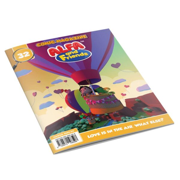 Digital Comic Book in App For Kids - Issue #32 | ALFAandFriends (1)