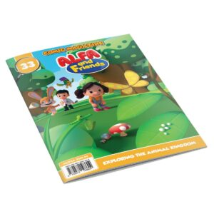Digital Comic Book in App For Kids - Issue #33   ALFAandFriends (1)