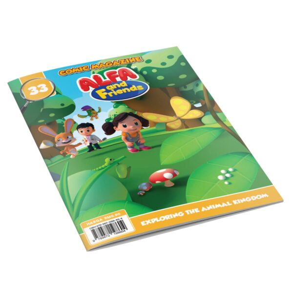 Digital Comic Book in App For Kids - Issue #33 | ALFAandFriends (1)