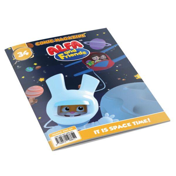 Digital Comic Book in App For Kids - Issue #34   ALFAandFriends (1)