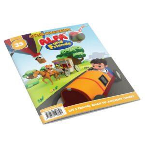 Digital Comic Book in App For Kids - Issue #35 | ALFAandFriends (1)