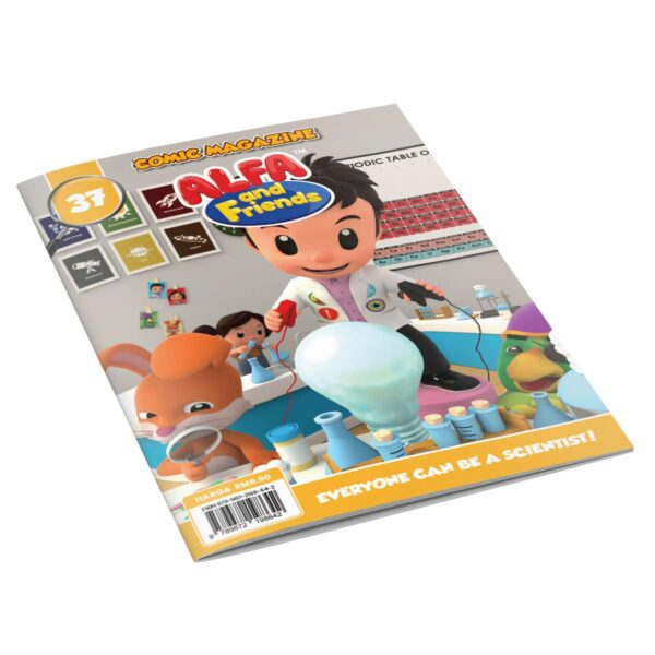 Digital Comic Book in App For Kids - Issue #37 | ALFAandFriends (1)