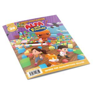 Digital Comic Book in App For Kids - Issue #38 | ALFAandFriends (1)