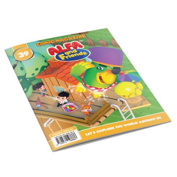 Digital Comic Book in App For Kids - Issue #39 | ALFAandFriends (1)