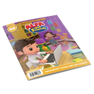 Digital Comic Book in App For Kids - Issue #40 | ALFAandFriends (1)
