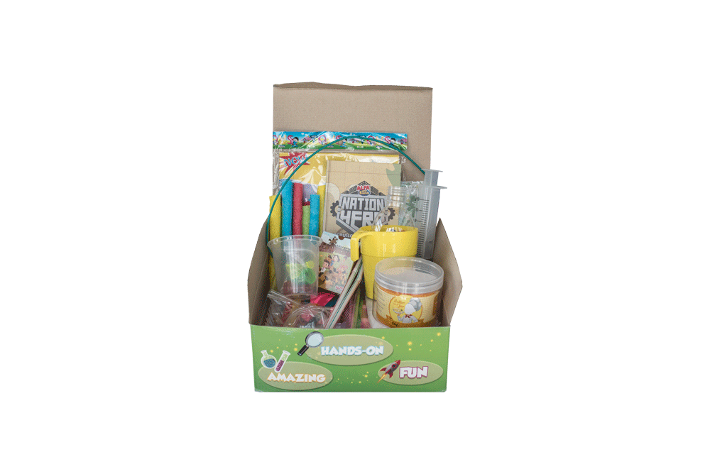 SuperHero Exploration Kit: Nation Hero | ALFAandFriends